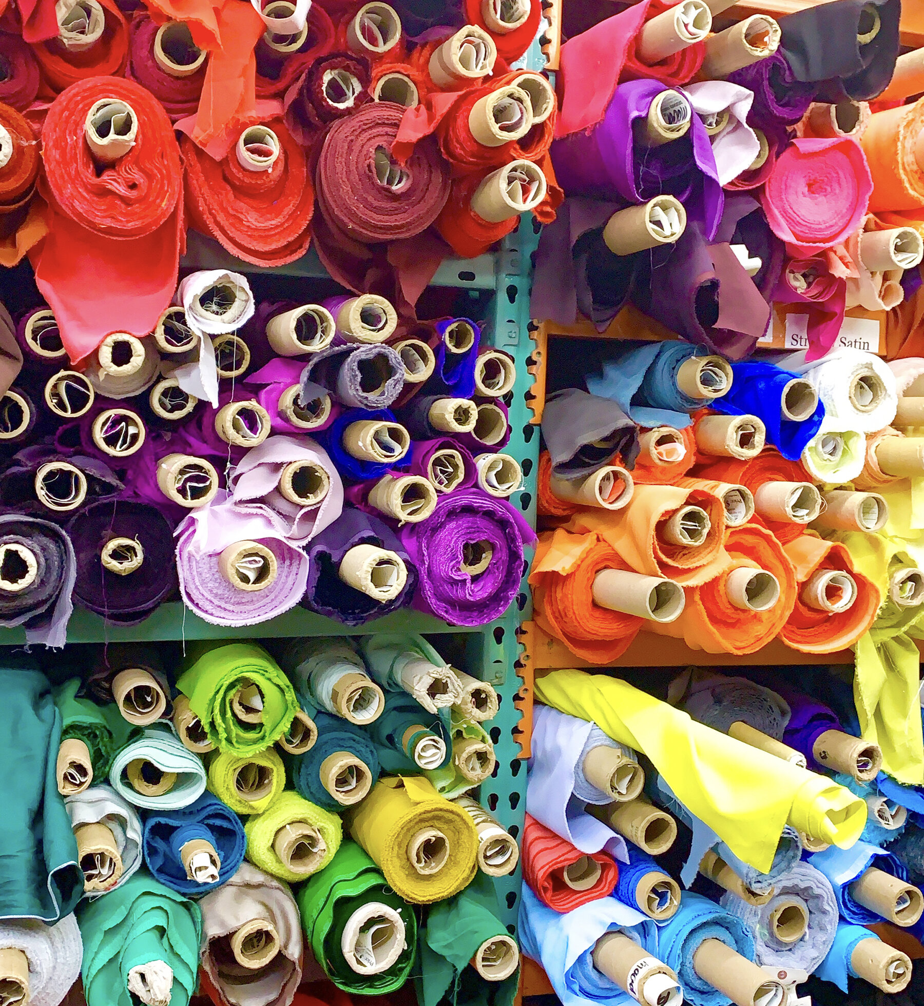 Nyc Garment District Fabric Shopping Guide Part 1 Top Tier Fabric Stores Buried Diamond