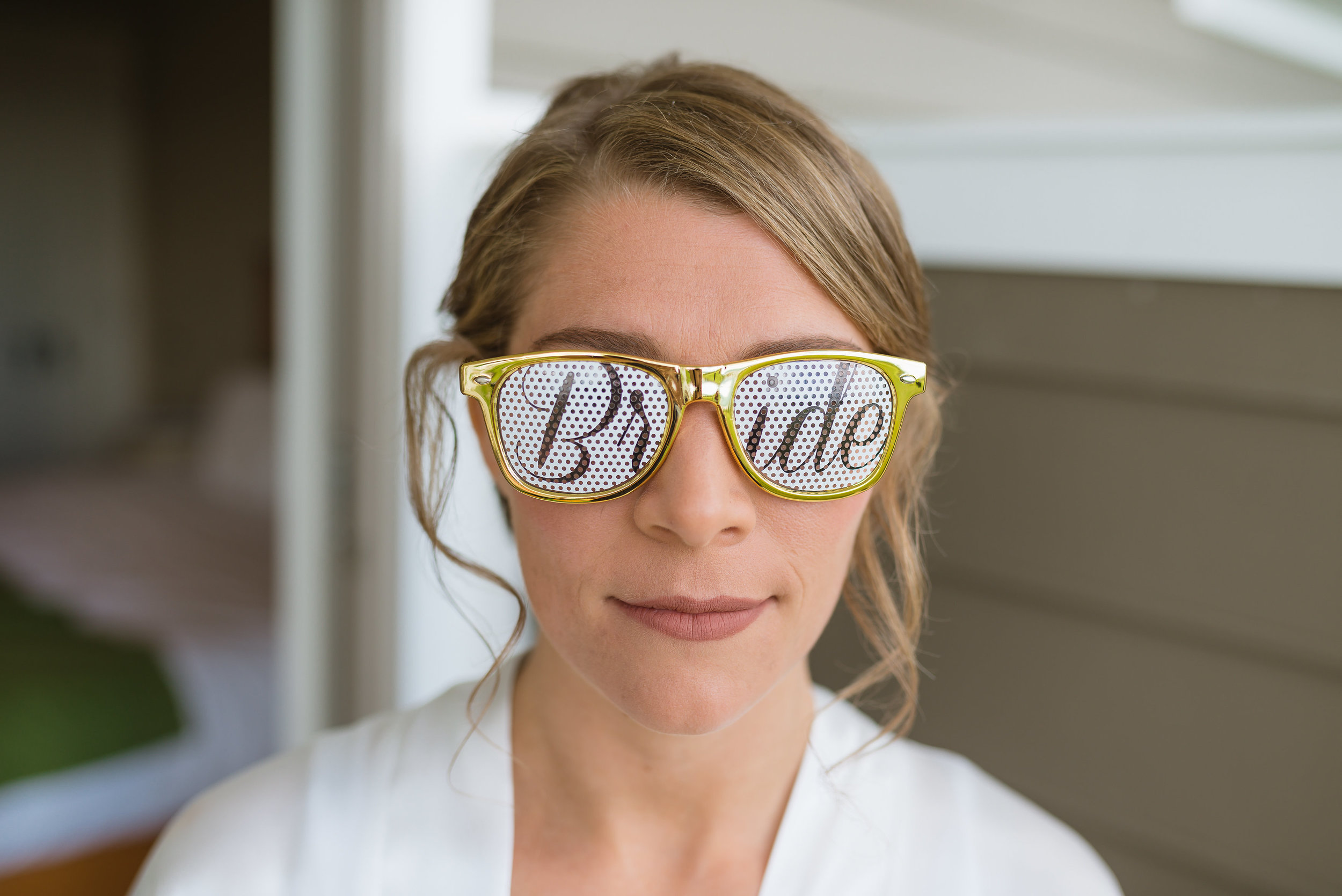 New England Bride Glasses Sunglasses | Mike Sears Photography