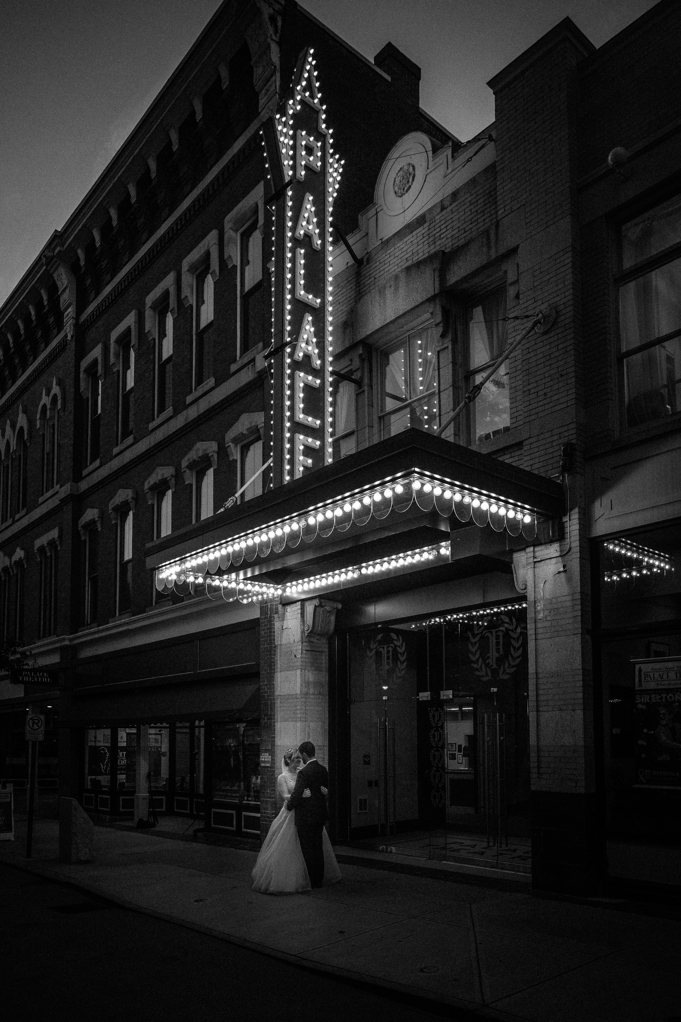 New England Theater Wedding Photographer | Mike Sears Photography