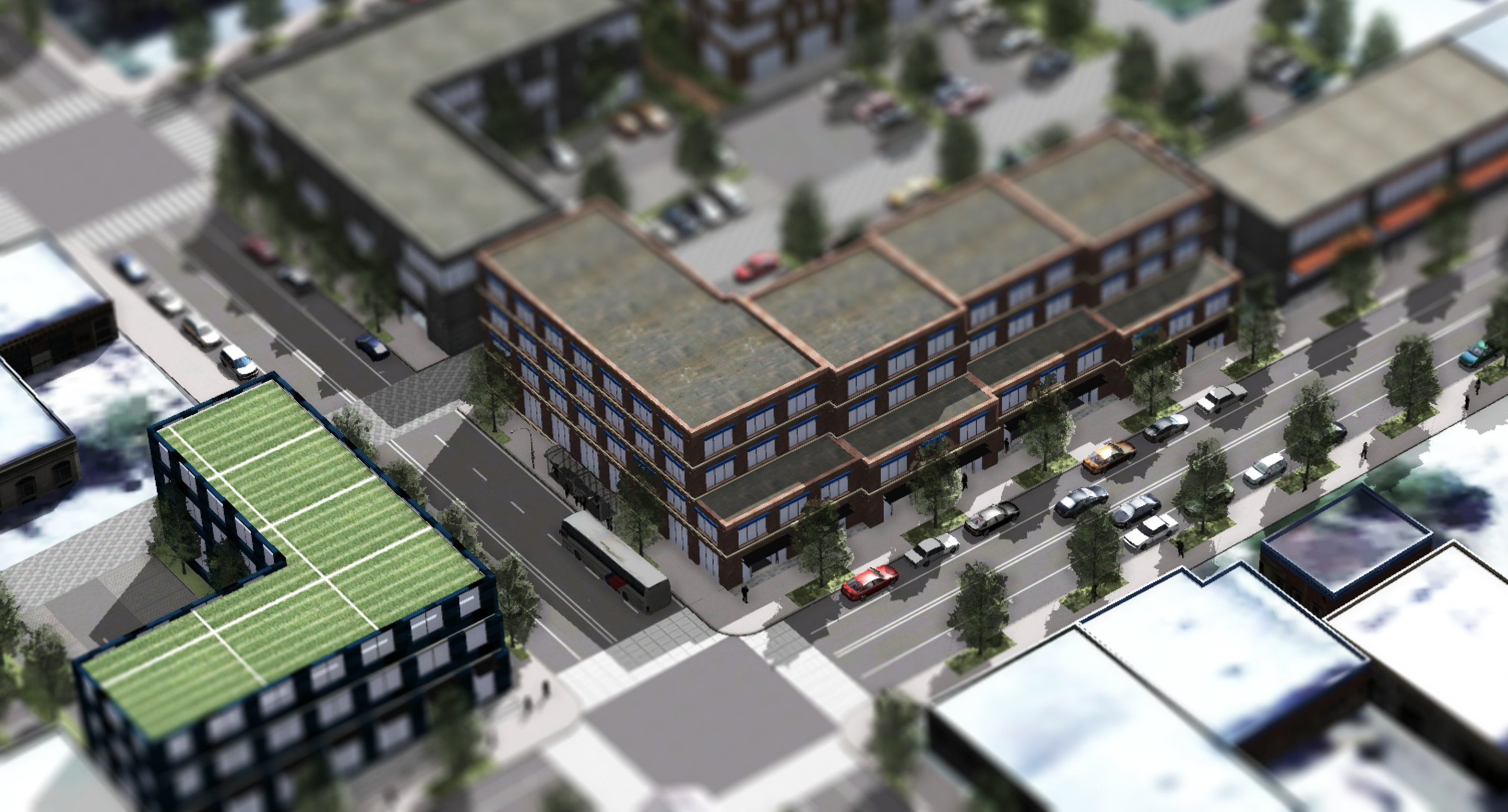 Transit-oriented development  urban design concept (O2 Planning + Design)