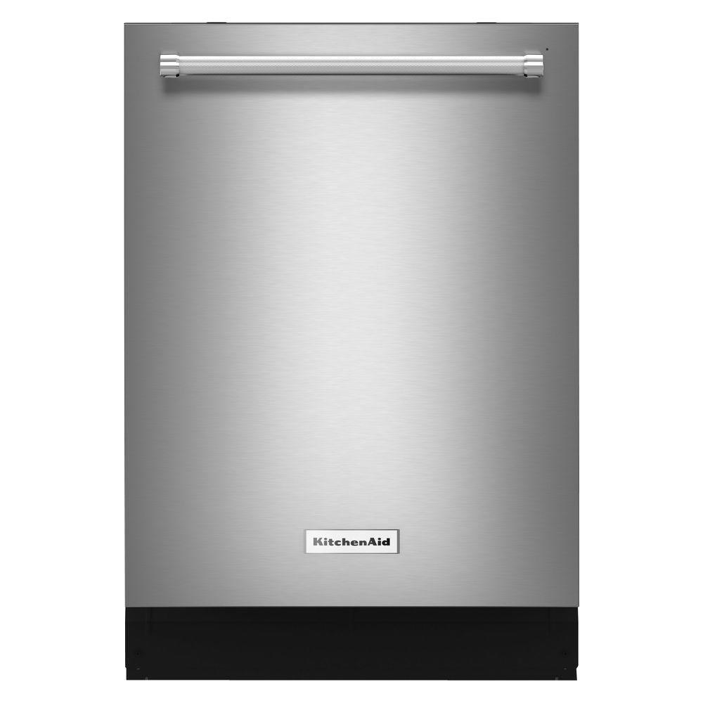 KDTE104ESS Top Control Dishwasher in Stainless Steel with Stainless Steel Tub, ProWash Cycle, 46 dBA