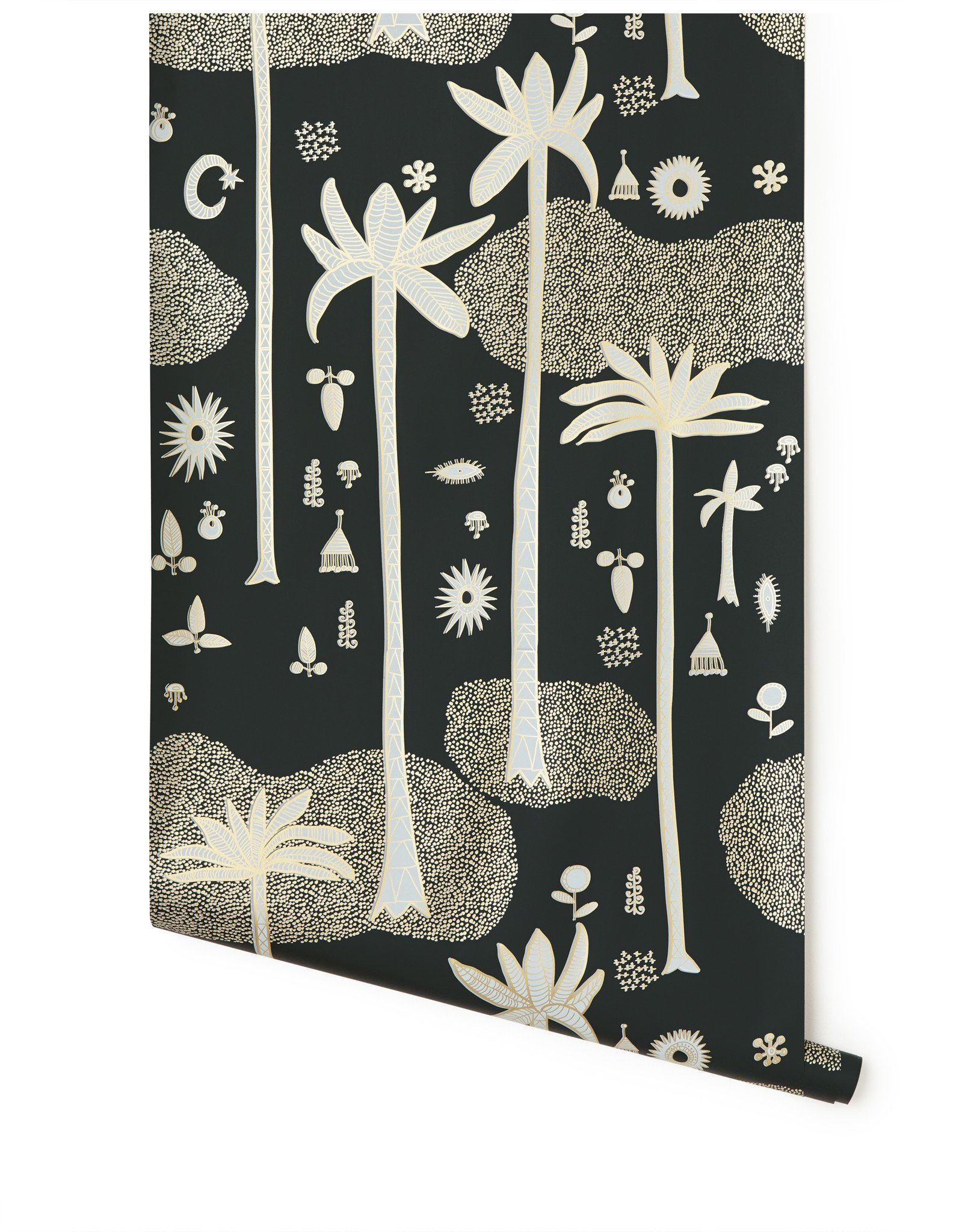 Cosmic Desert Justina Blakeney Jungalow Palm Tree Wallpaper Hygge & West