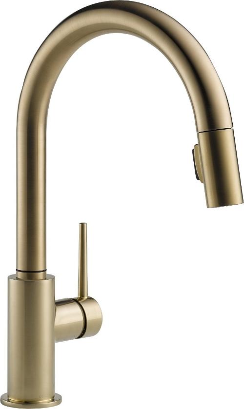 Delta Trinsic Champaign Bronze Faucet