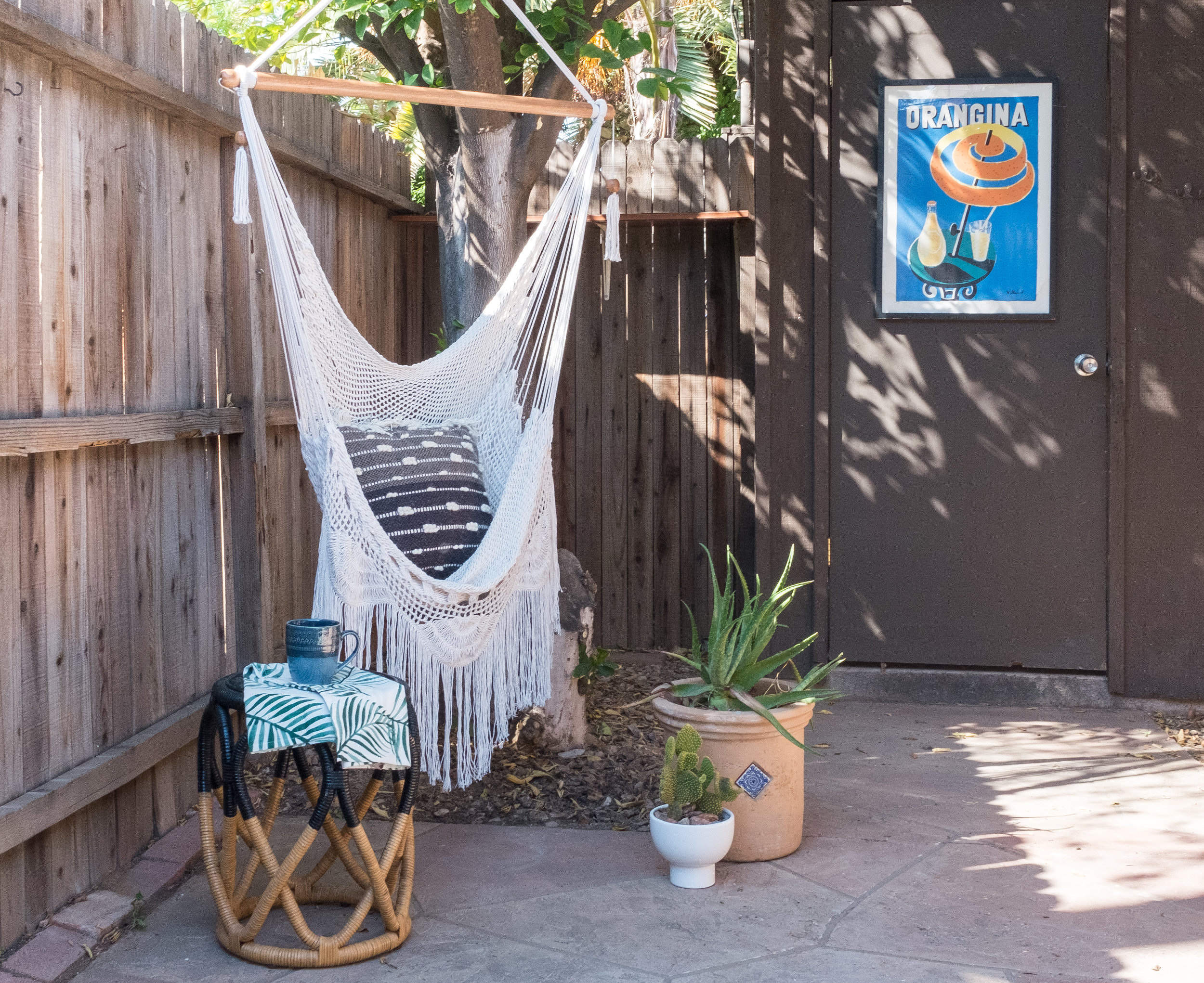 Shop The Cozy Cactus Patio Hanging Chair