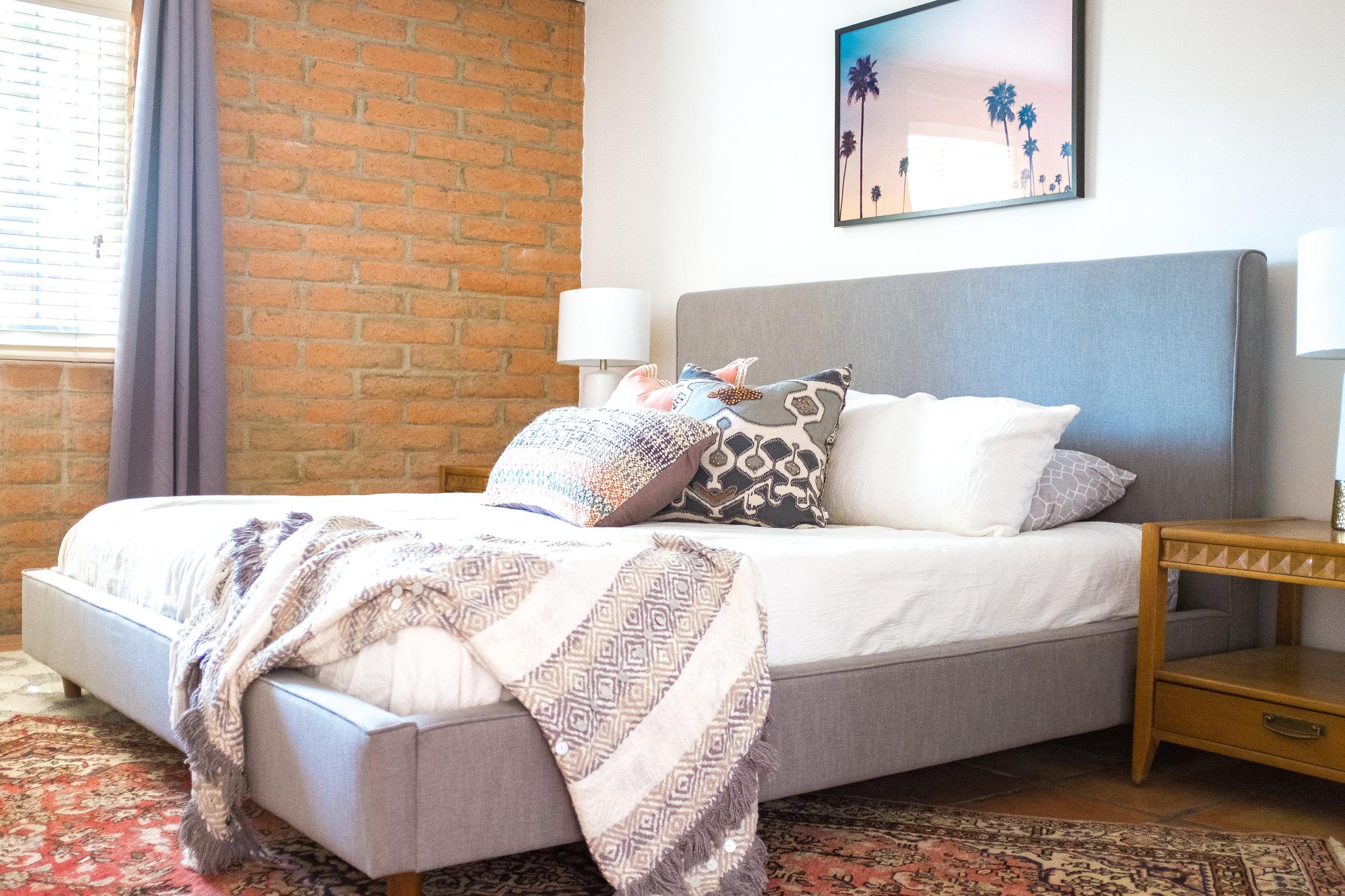 Shop The Comfy Cactus Master Bedroom
