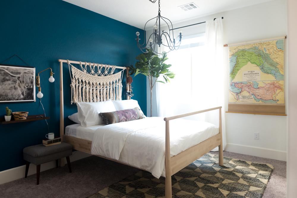 Macrame Bed by Vintage Revivals