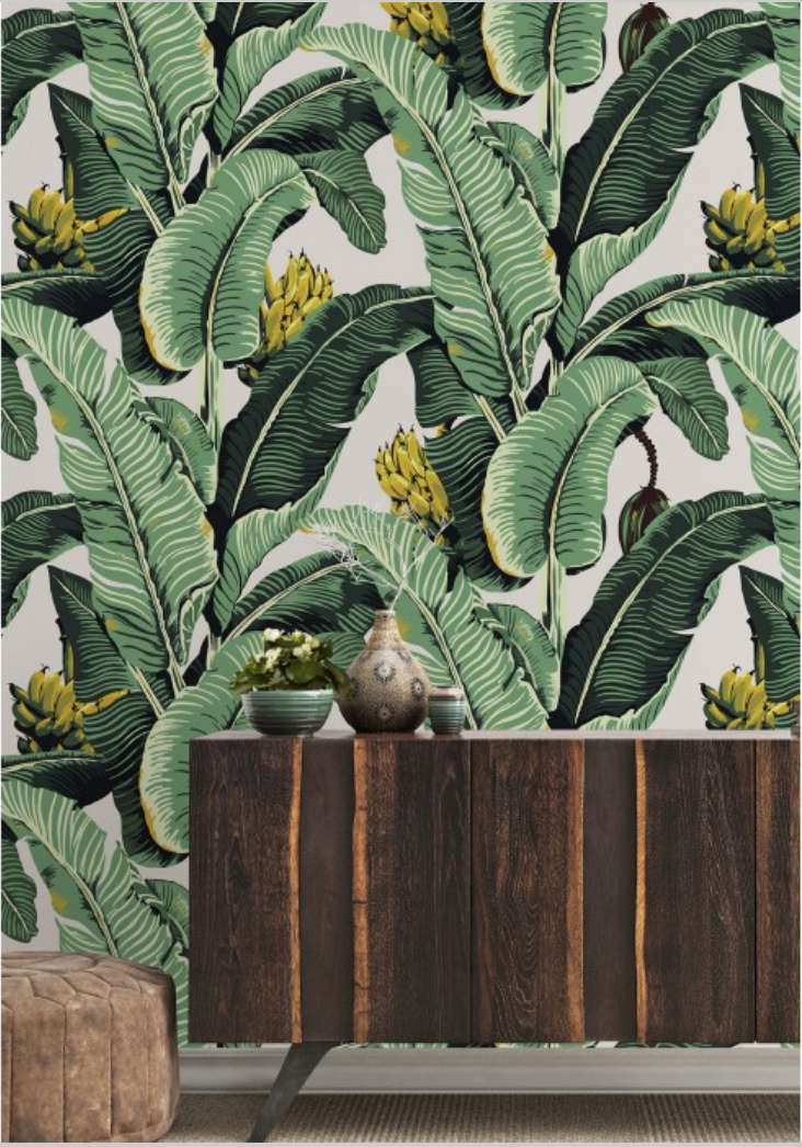 Milton & King Jungle Palm Wallpaper