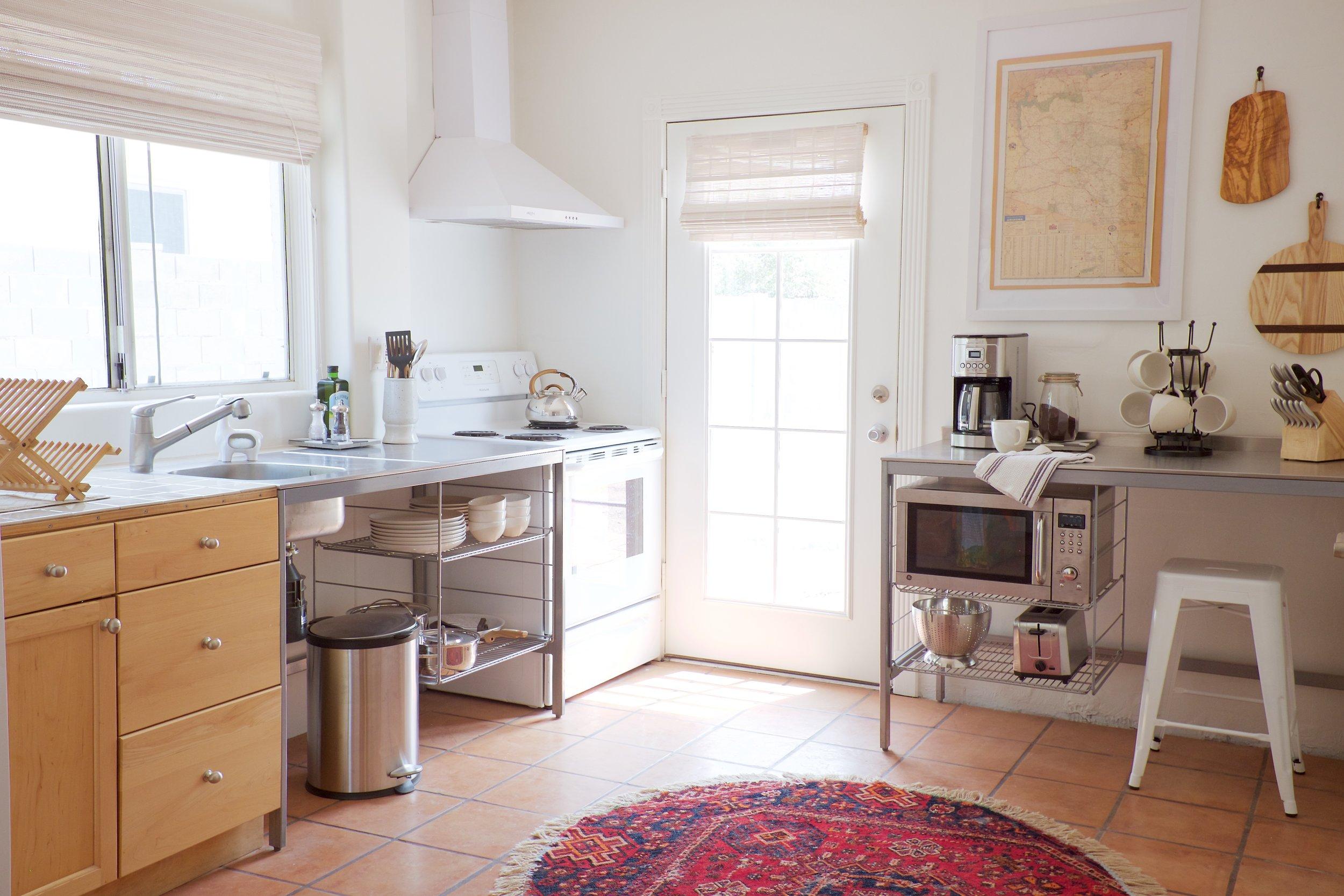 The Shack Phoenix Airbnb Full Kitchen