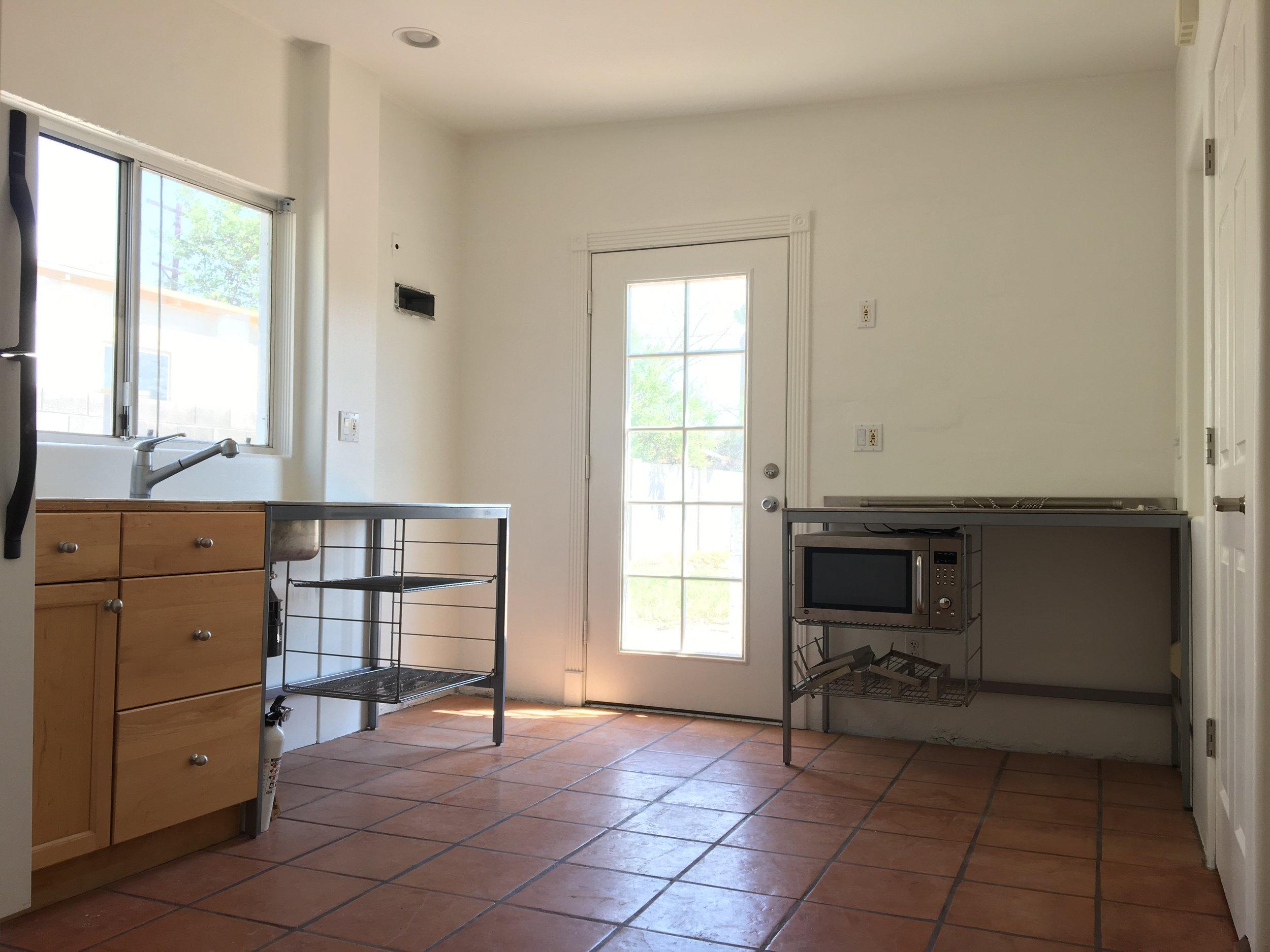 Blank canvas ikea kitchen at the shack