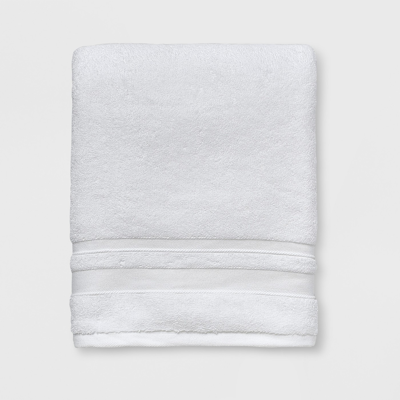 White target towels