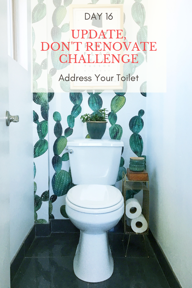 Day 16 Update Don't Renovate Challenge: Toilet