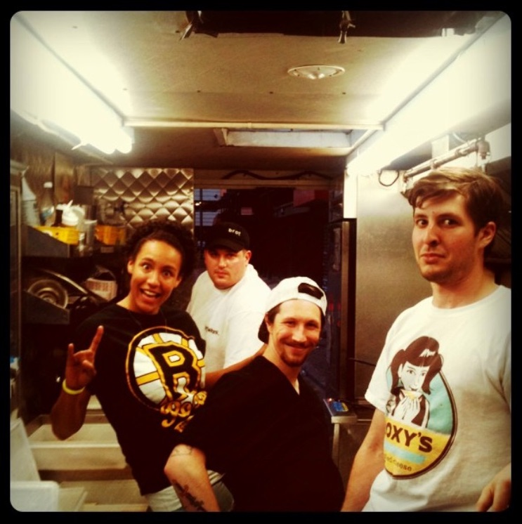 Justin, Syd, Colin, and Sam dream teaming in 2012