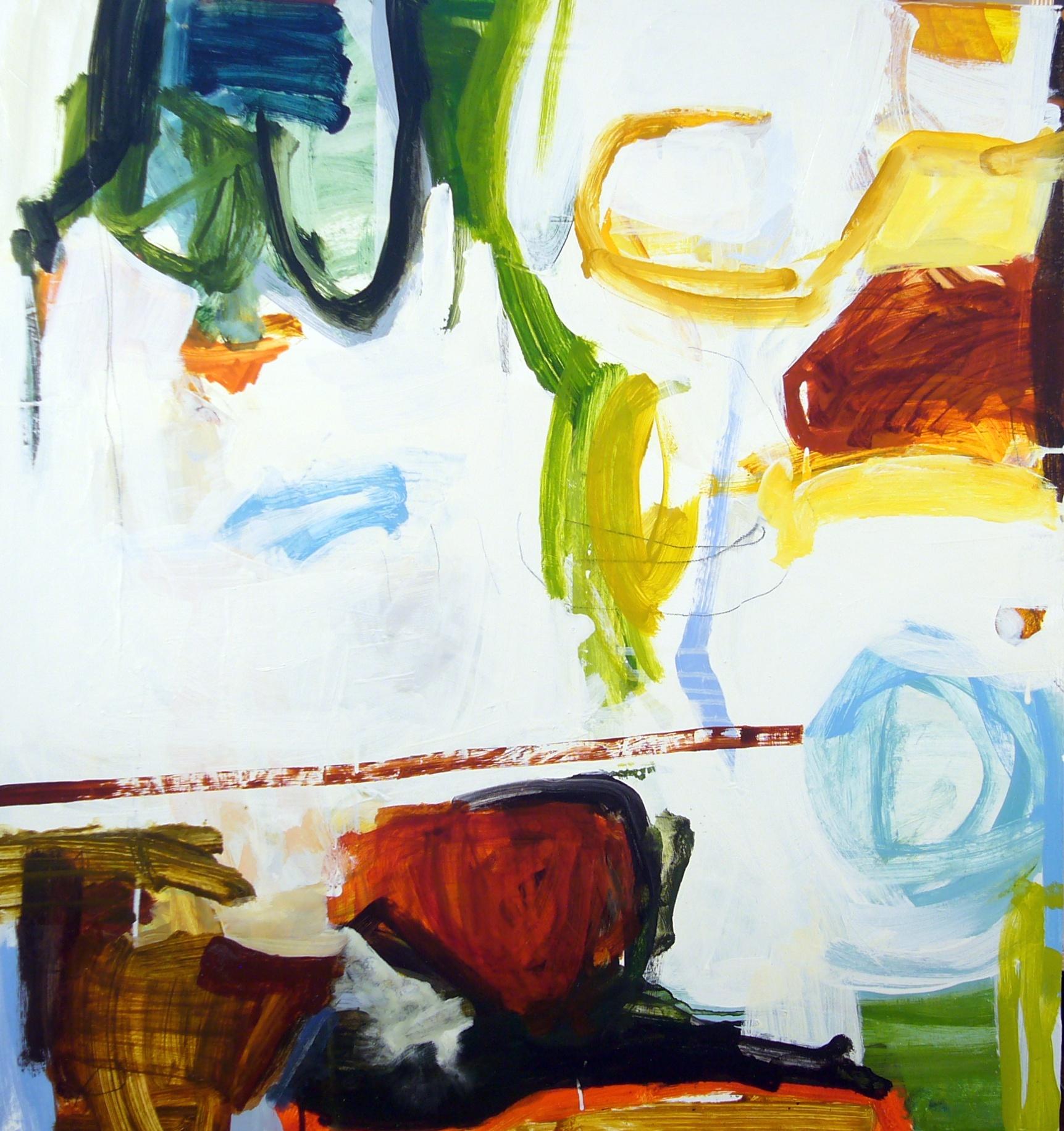 "Michael Rich, ""On Vine & Tree,""Oil on Panel,32"" x 30"""