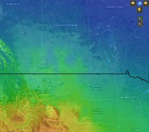 Source   :  IRENAGlobal Atlas for Renewable Energy -3TIER Solar dataset