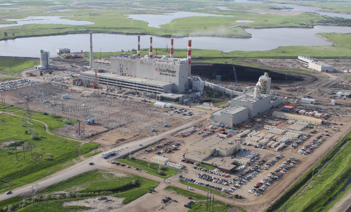 Boundary Dam Carbon Capture and Sequestration Project. Ex SaskPower