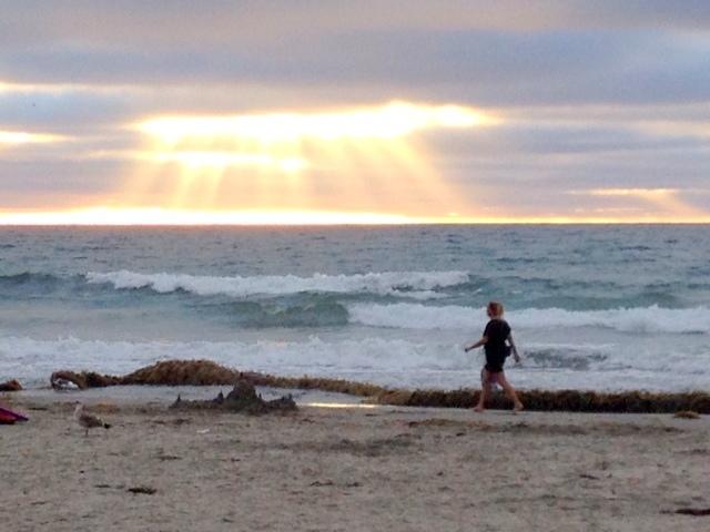 Sunset at La Jolla Shores