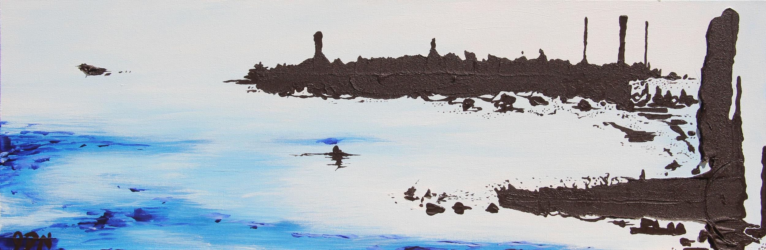 Tar (2014)   acrylic on canvas - SOLD