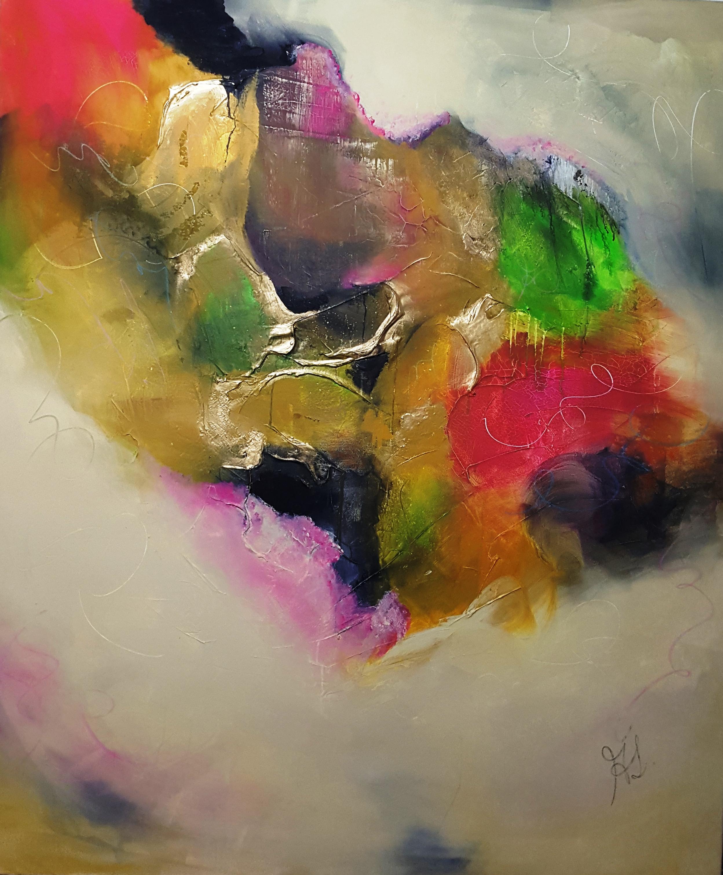 Heart   2009 acrylic on canvas 190cm x 160cm