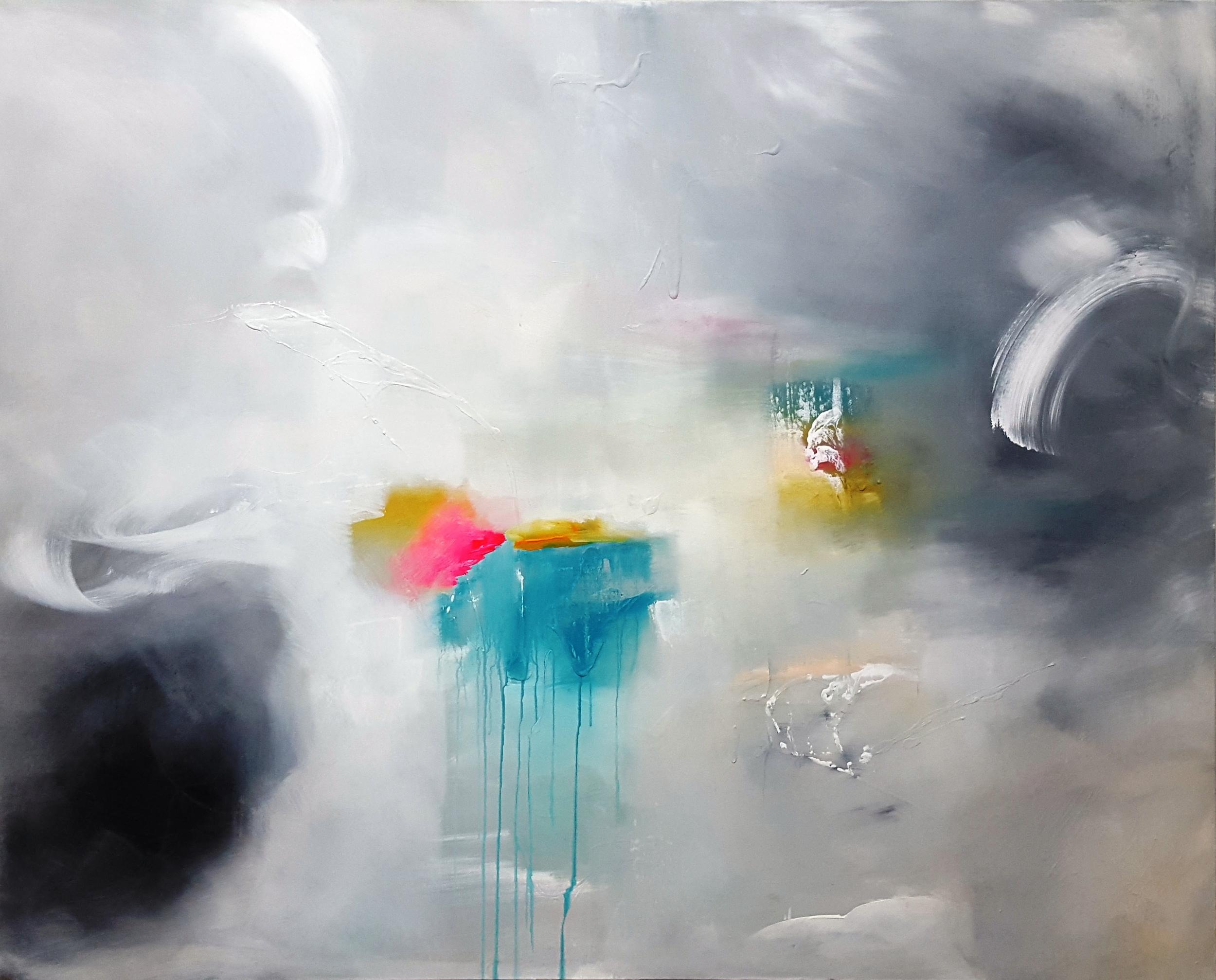 Tears   2016 acrylic on canvas 150cm x 120cm