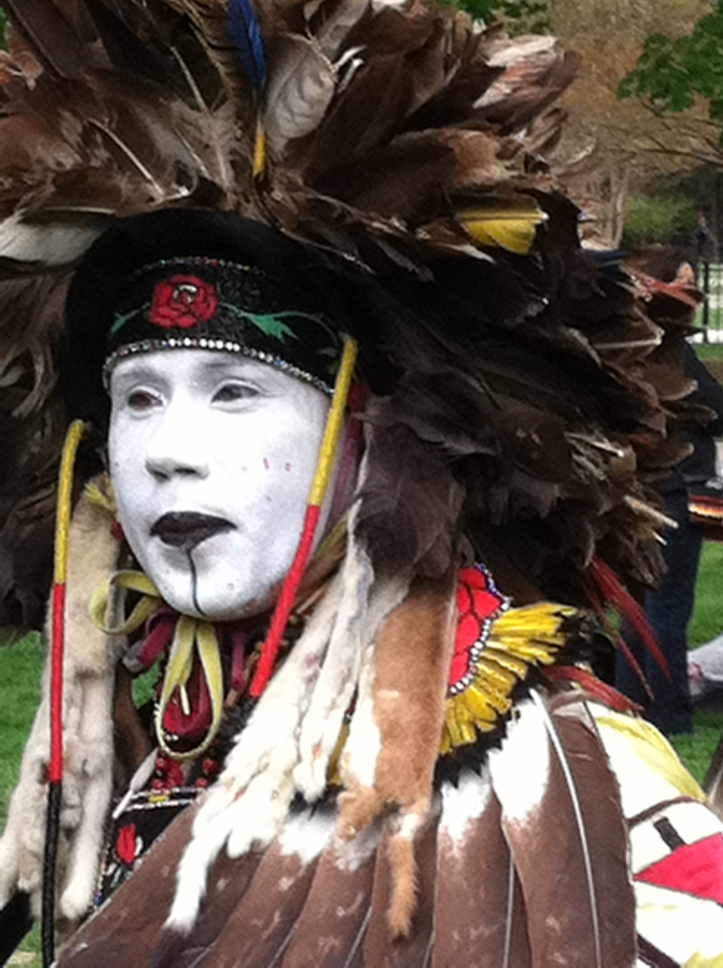 Fancy Dancer, Georgetown University Powwow   (2013), photograph