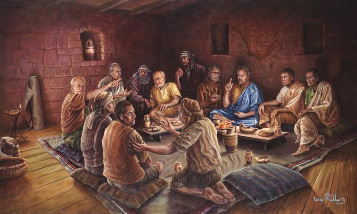 The Imputation of Judas  (2012), oil on canvas