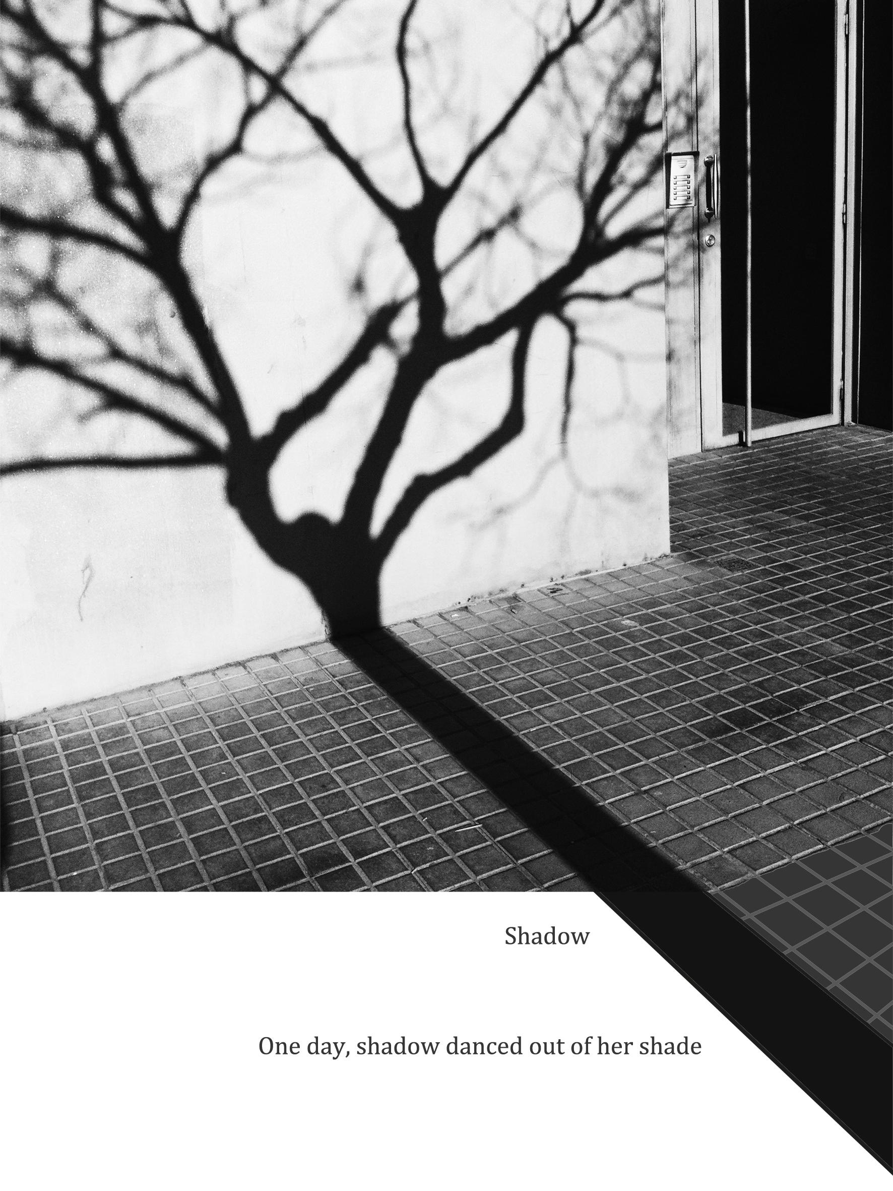 Shadow  gyclee fine art print on photolux pearl paper 2016 15 x 20 cm