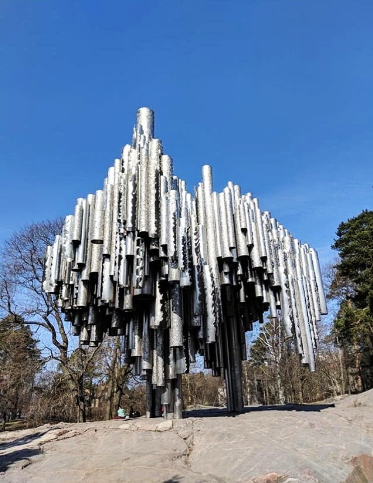 sibelius monument    eila hiltunen  helsinki, finland  photo credit:  @crlhmlt  , 2019