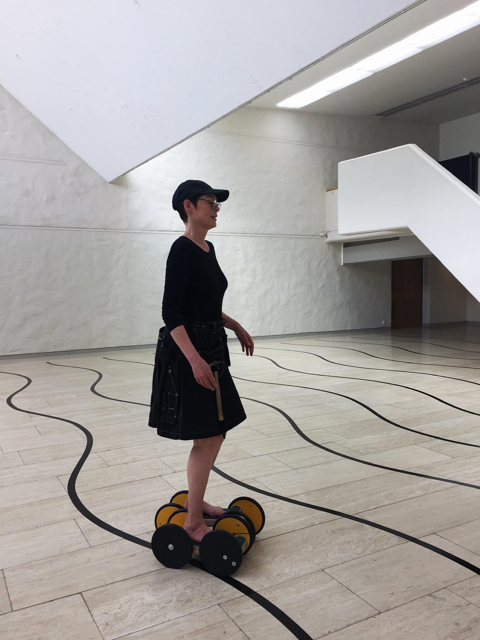 det är…, det var…, men det…, det finns…, man kan…  (from the museum to the streets)    elin wikström   skövde, sweden  photo credit: cecily ferguson, 2019