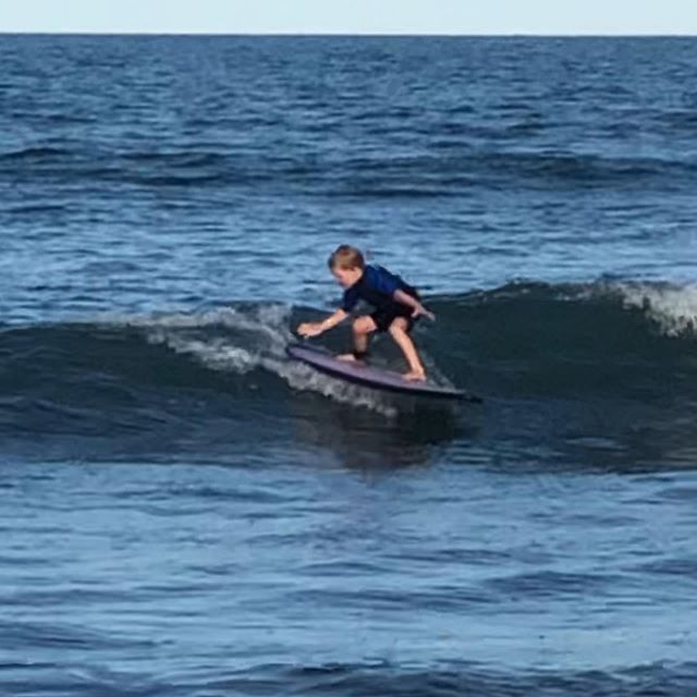 First time out for this 5 yr old and he rips! #surflessons #marthasvineyardsurflessons #chilmark #aquinnah #edgartown