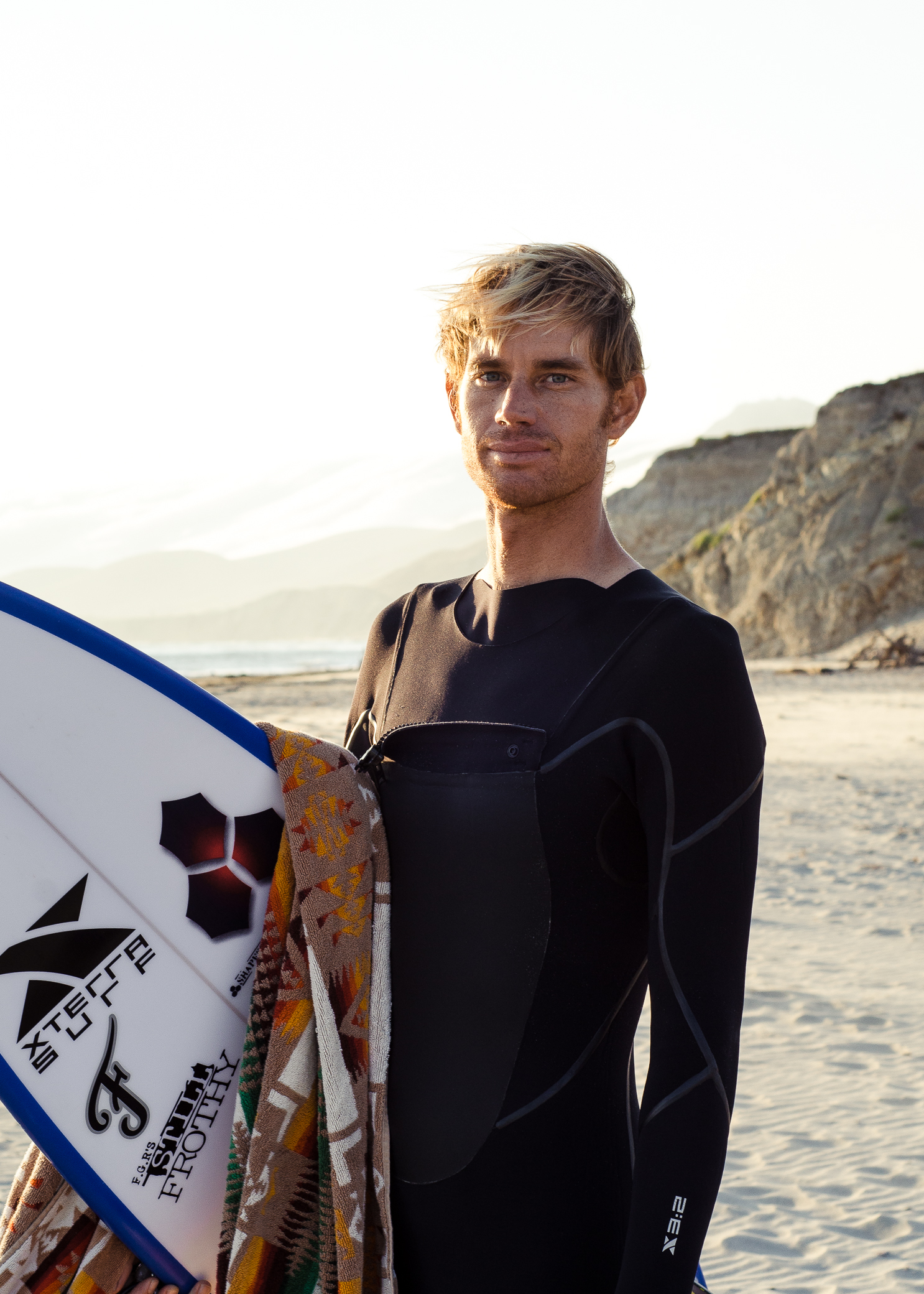 Kilian Garland Santa Barbara Surfer Portrait Miranda Kelton Photography