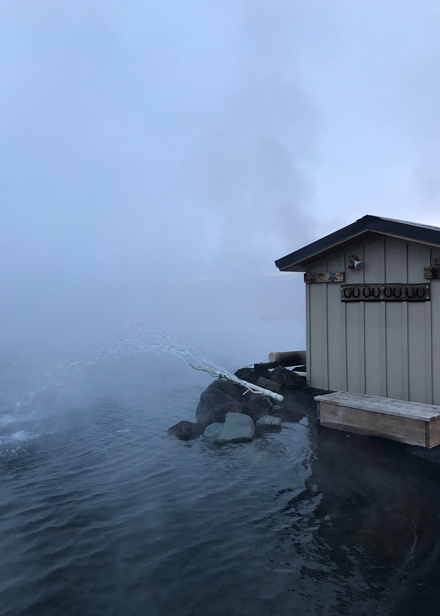 Crystal Crane Hot Springs Burns Oregon Winter Sunrise Teepee Miranda Kelton Photography