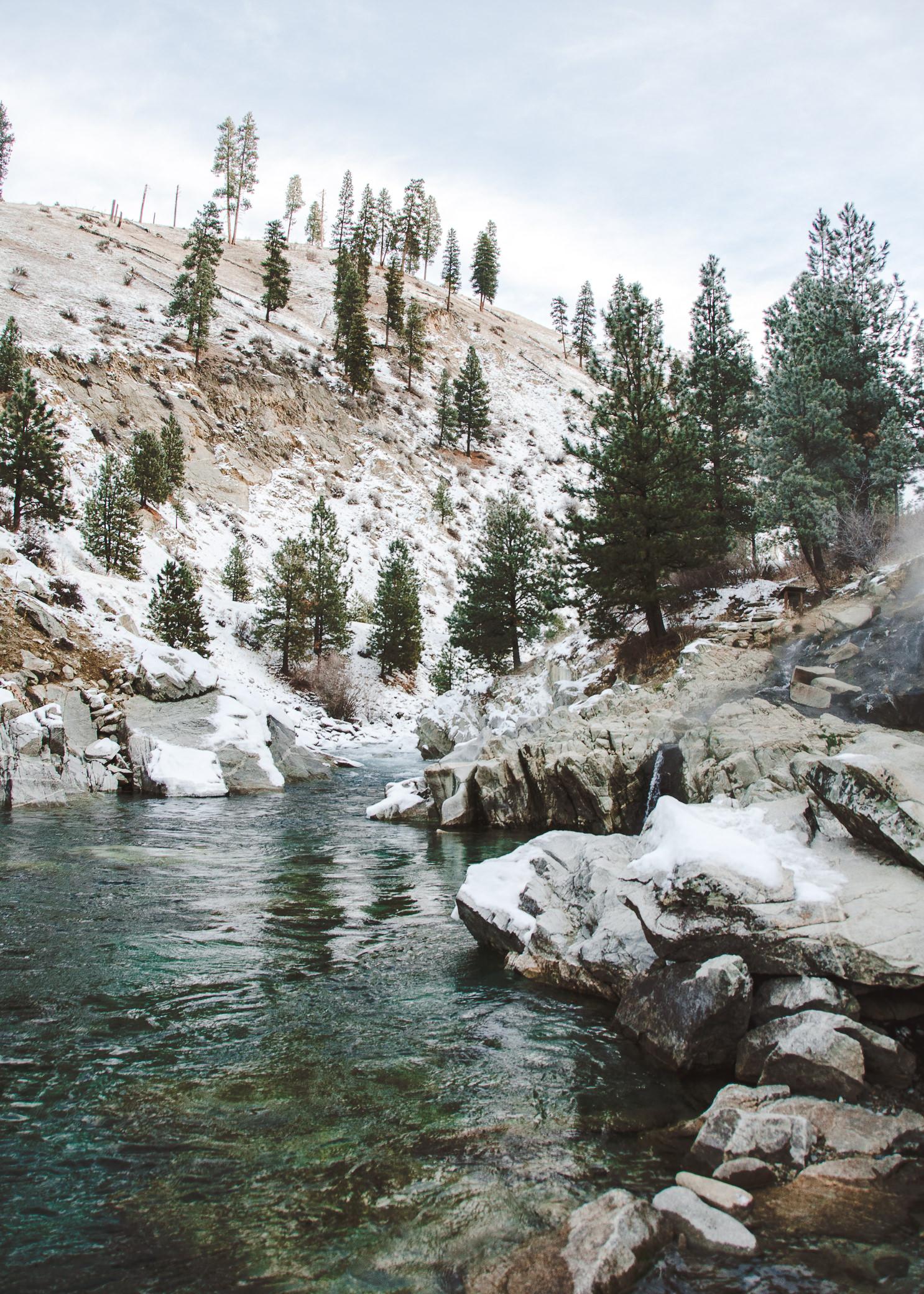 Kirkham Hot Springs - Lowman, Idaho