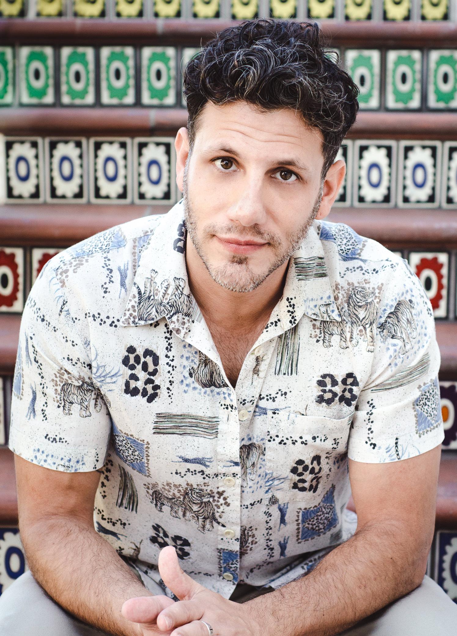 Maxx Hennard Actor Headshot Santa Barbara Miranda Kelton Photography