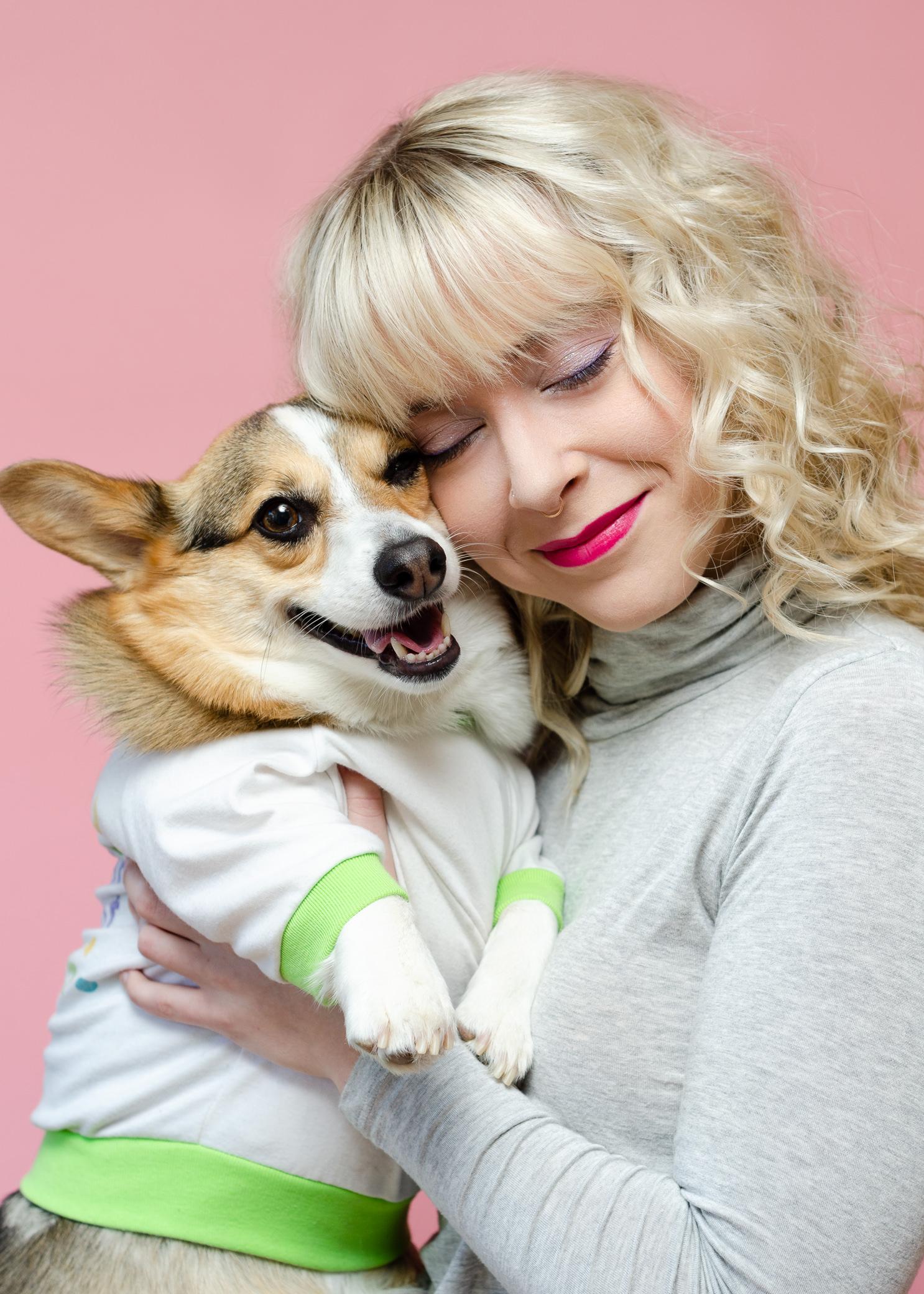 80s Fashion Pet Photoshoot Corgi Dog Los Angeles Photographer Miranda Kelton Photography-1.JPG