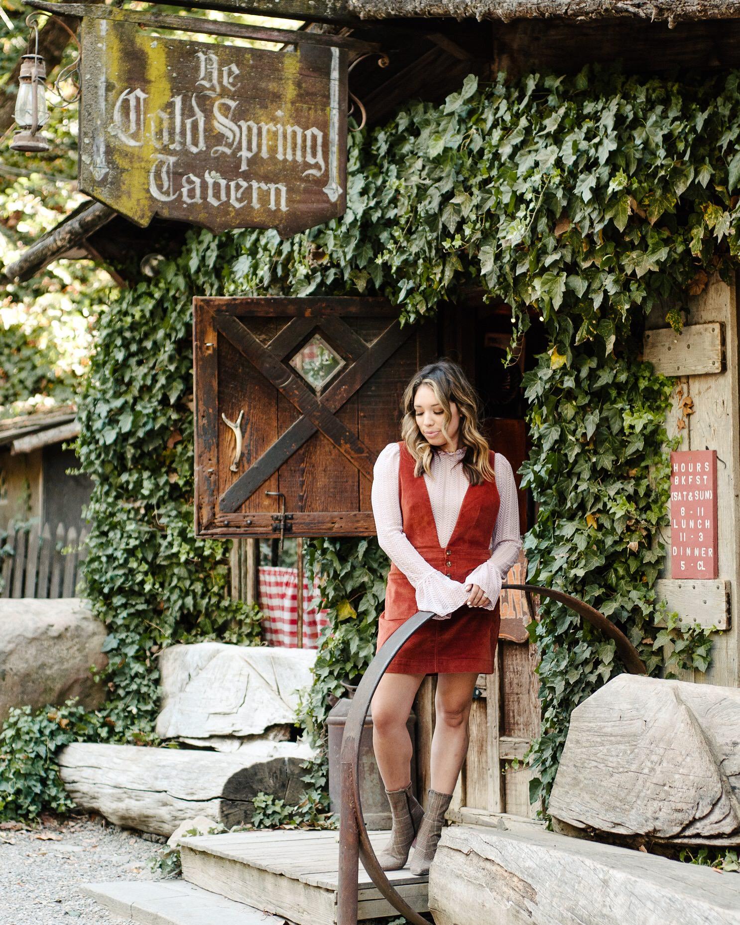 Cold Spring Tavern Santa Barbara Alex Riley Hola Marcia Free People Fashion Blogger Miranda Kelton Photography