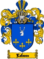 The LeFevre family's coat of arms