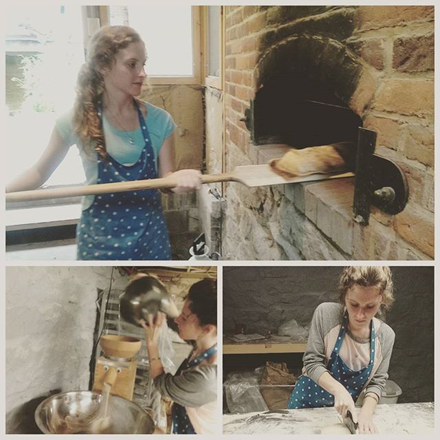 It was an absolute joy to work with my first ever apprentice this week! Erin Shelley dove right in to the process for her senior graduation project. She definitely has what it takes to be a professional baker!