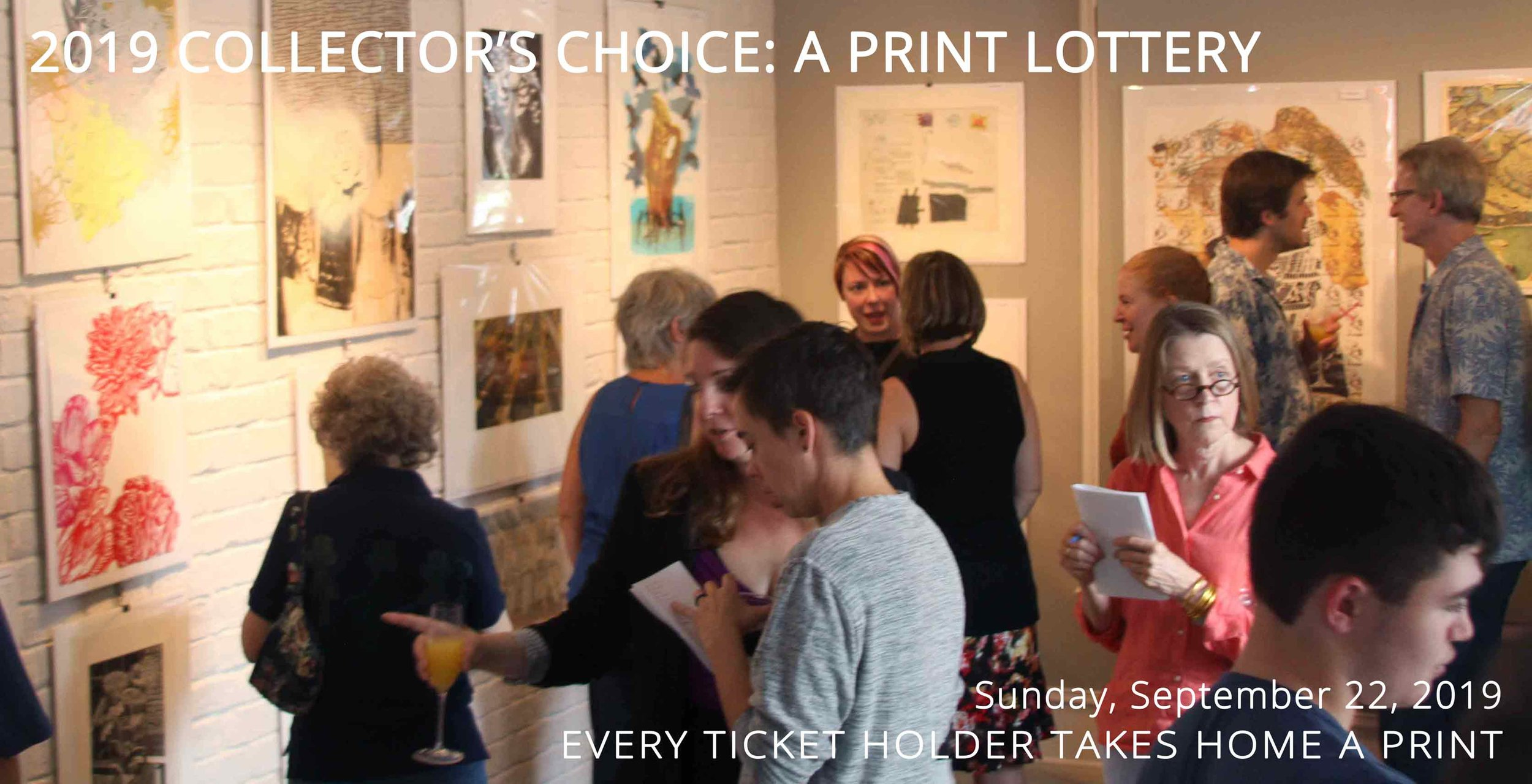 THANK YOU! - For support the Atlanta Printmakers Studio by entering the Collector's Choice Print Lottery!