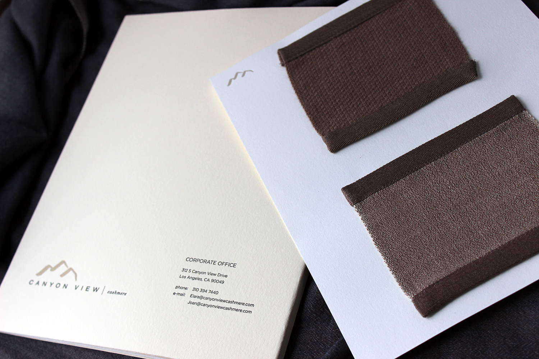 travel brochure texture card insert