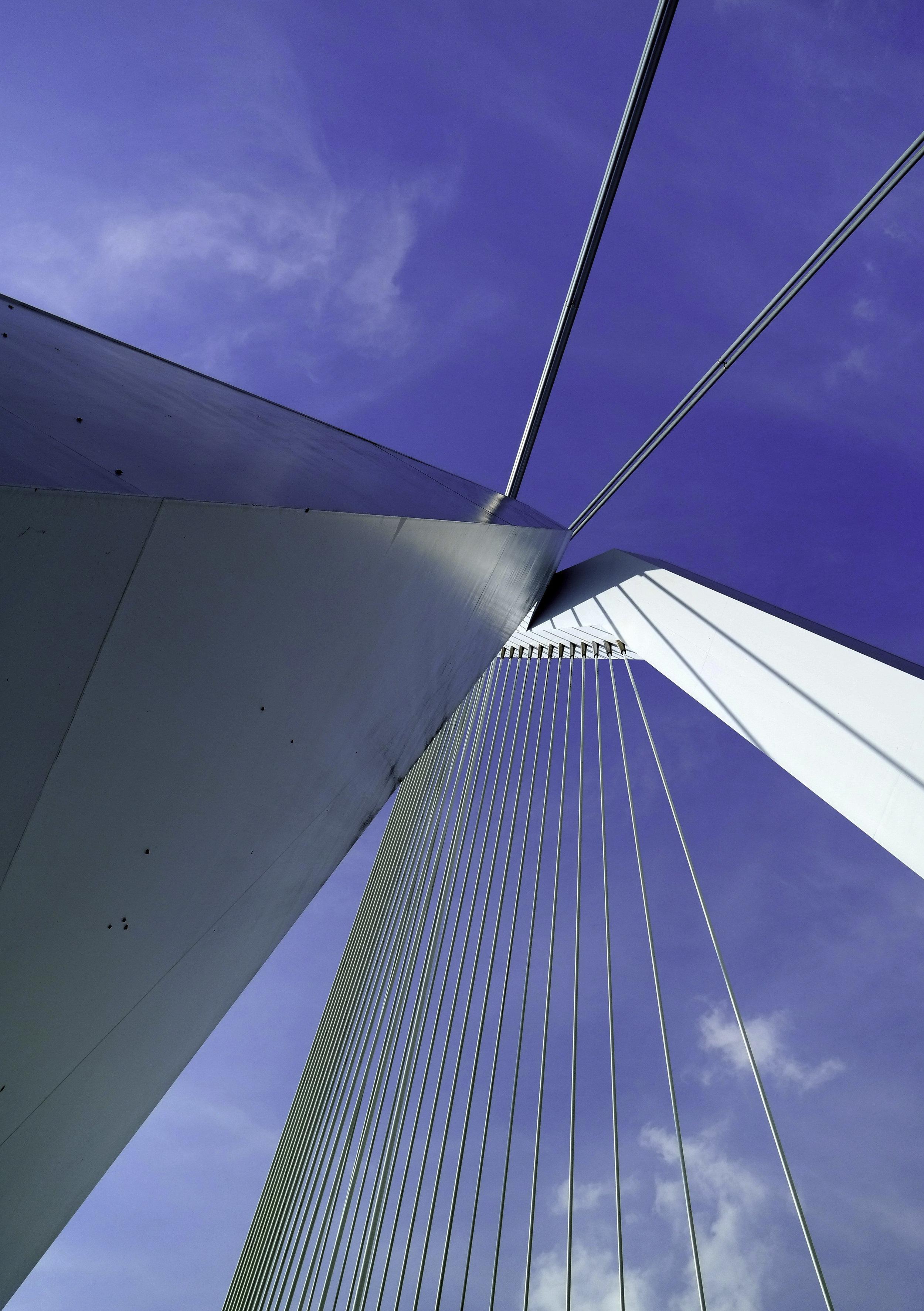 Angle on Erasmus Bridge. Rotterdam, Netherlands.jpg