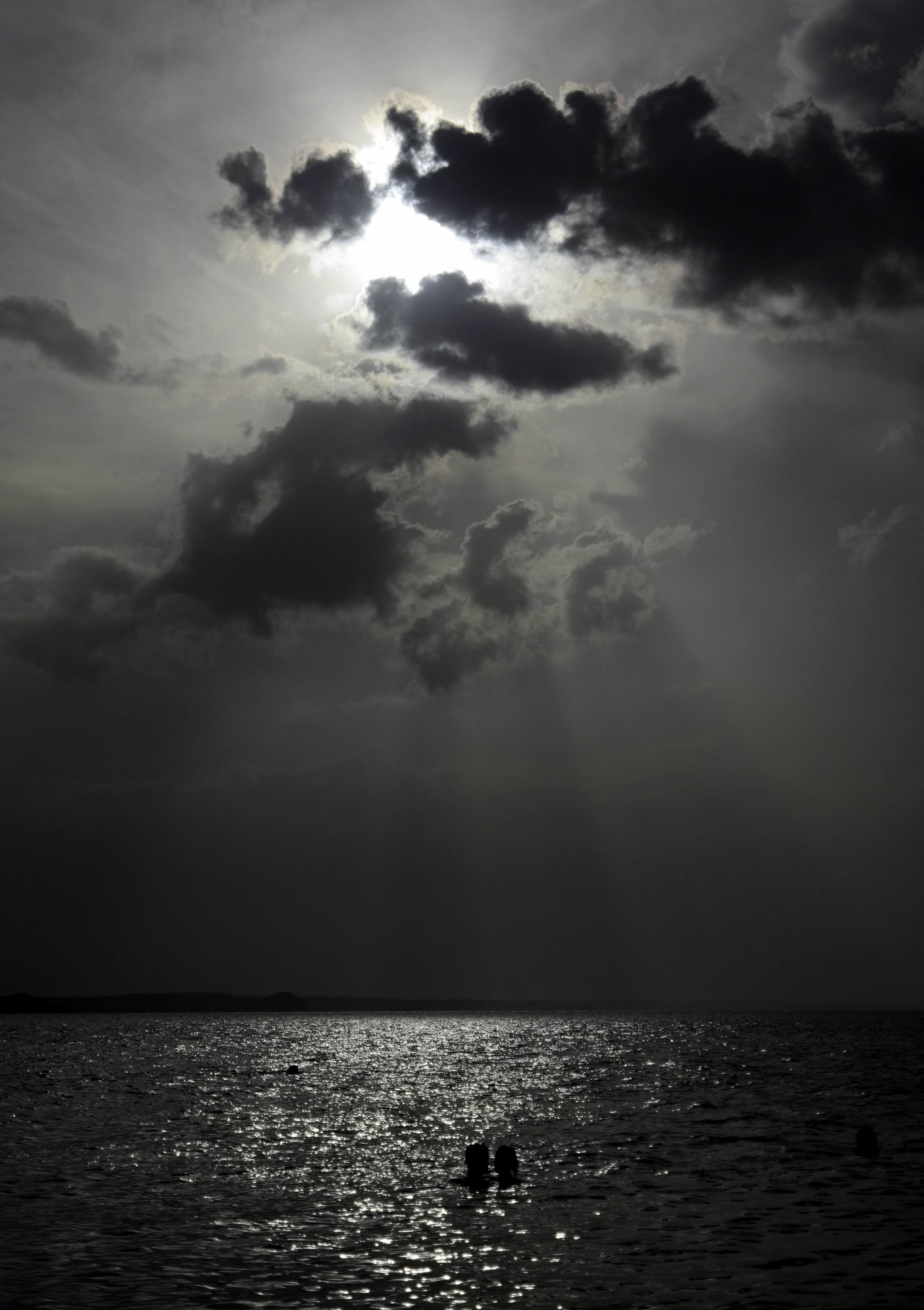The power and sunset, ocean, and clouds.Cienfuegos.jpg