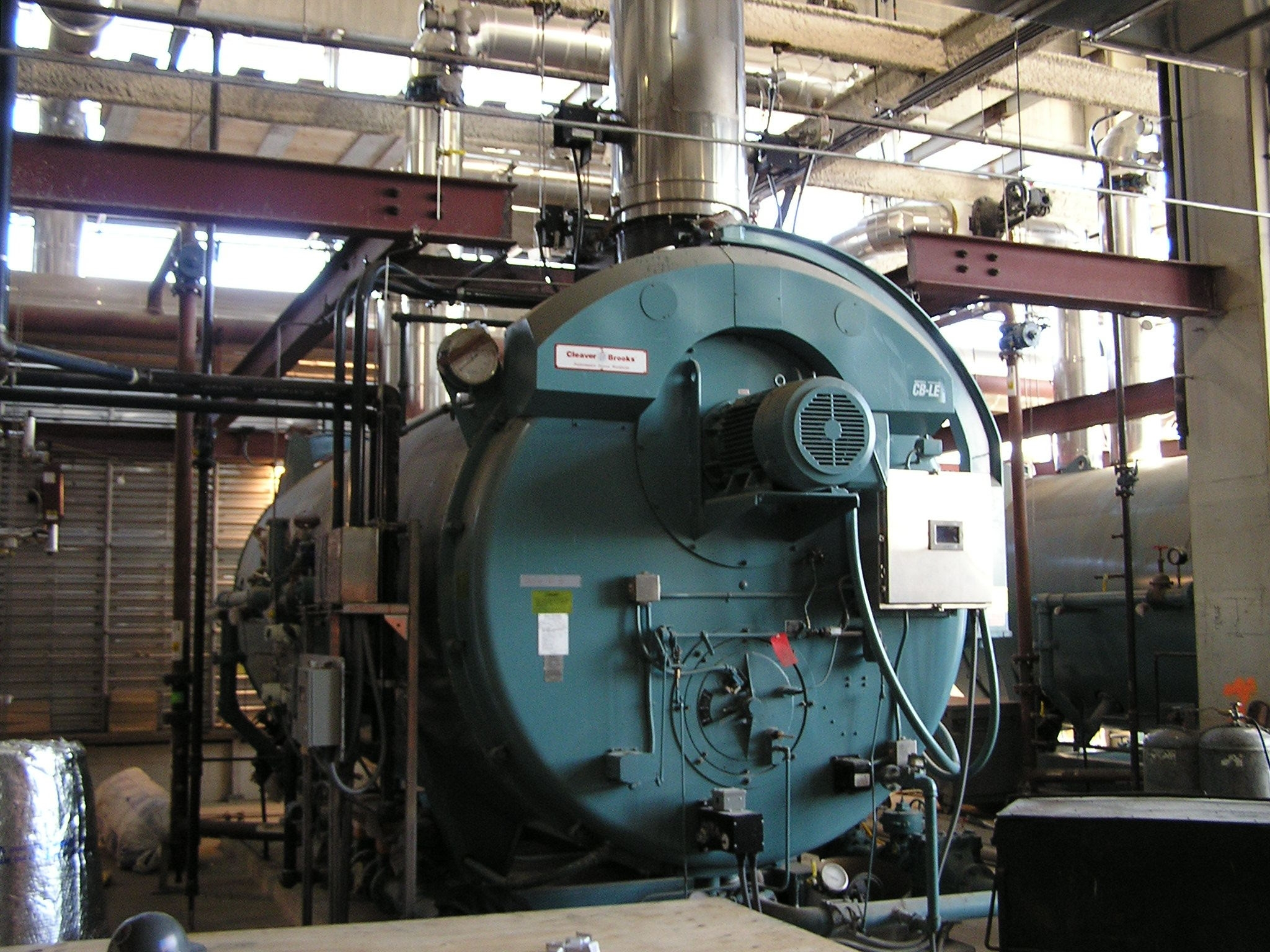Boilers & Venting. Efficentcy Counts! -