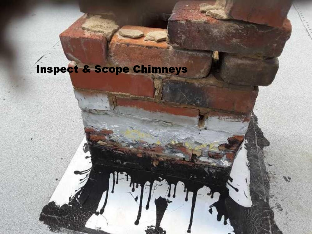 Chimney in poor condition