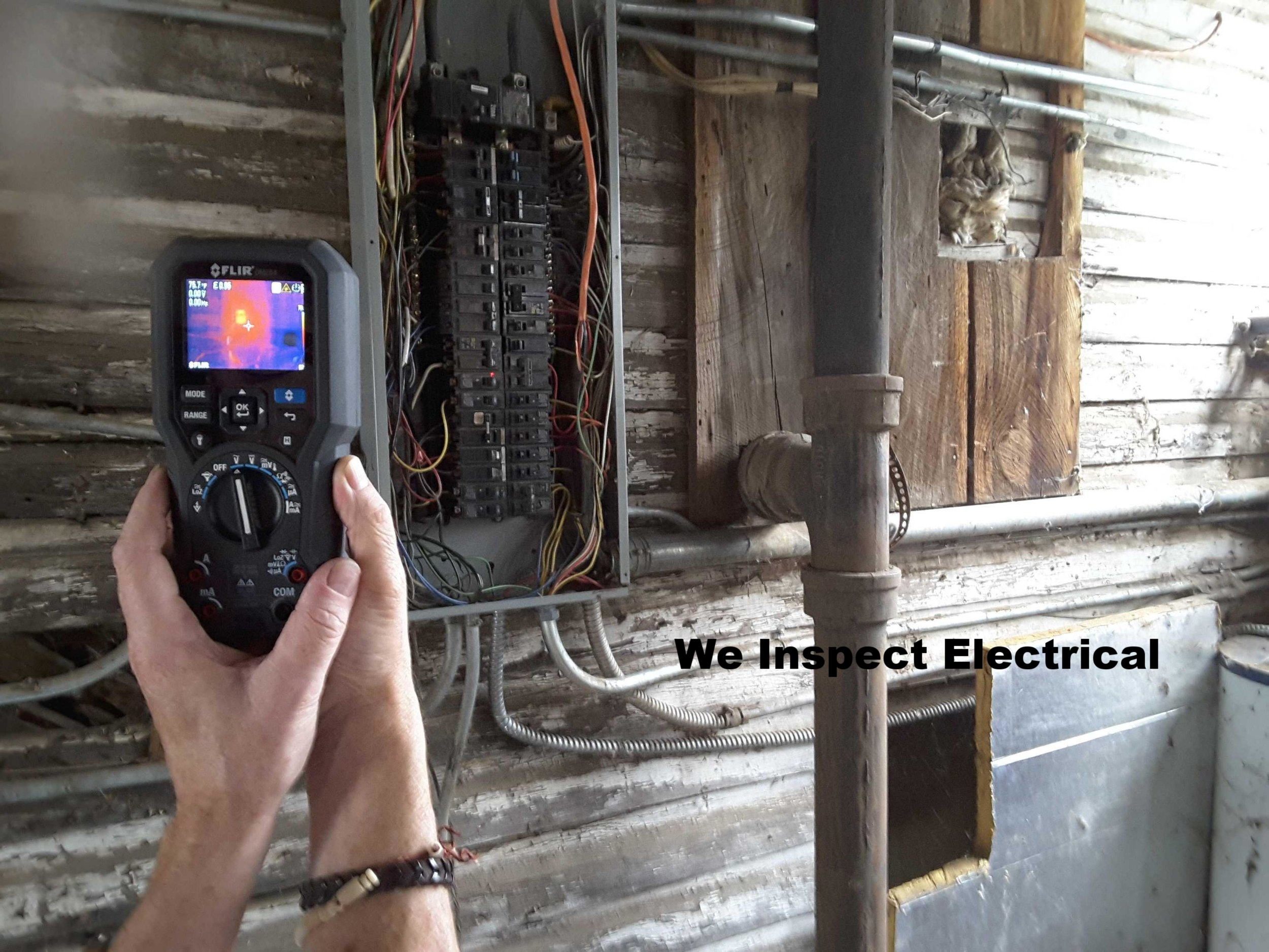 Thermal Imagery of electrical