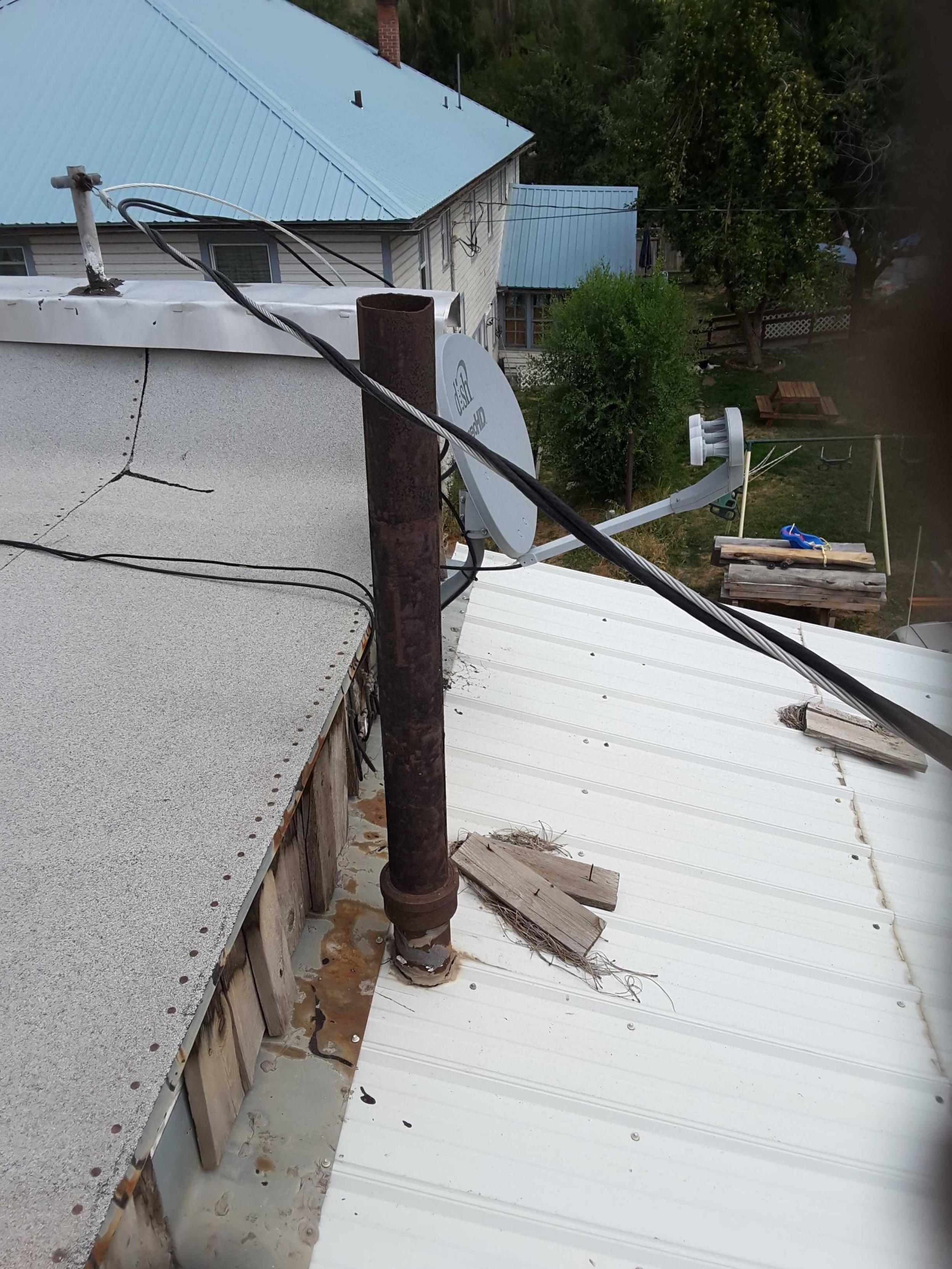 Metal Plumbing Vent