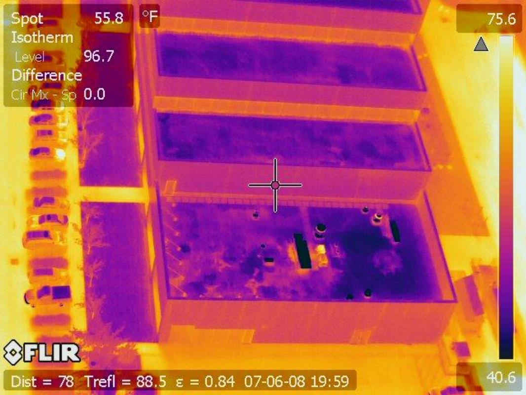 Rooftop Thermal Imaging - Does your roof have a leak and cannot locate it? We can