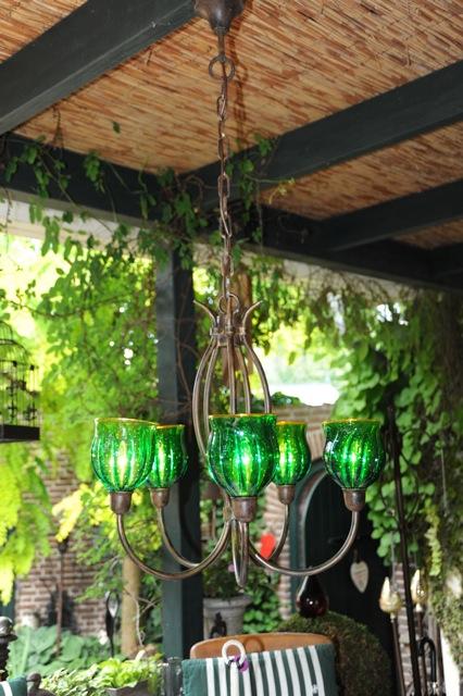 Robers 6 light Germany Emerald shades