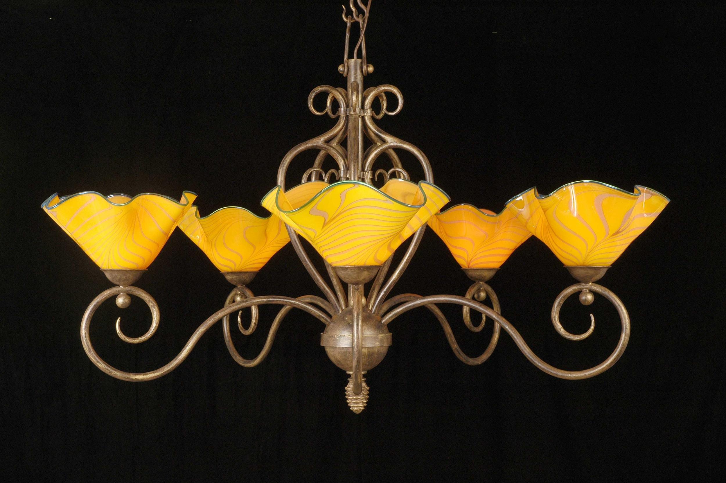 5-light-with-Papaya-on-blk HL2461 on blk.jpg artist rick strini .jpg