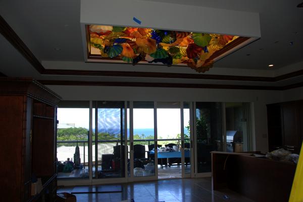 Baird Ceiling 4' x 6' illuminated with LEDs