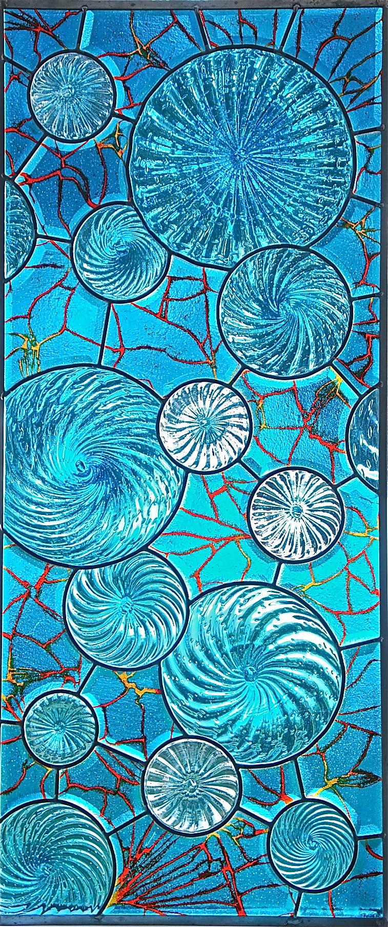 Collaboration with J. Cox, Haiku Glass